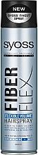 """Voňavky, Parfémy, kozmetika Lak na vlasy """"Flexibilný objem"""" - Syoss Fiber Flex Flexible Volume Hair Spray"""