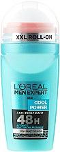 Guľôčkový deodorant - L'Oreal Paris Men Expert Cool Power Deodorant Roll-on — Obrázky N1