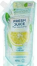 "Micelárna tekutina ""Yuzu"" - Bielenda Fresh Juice Detoxifying Face Micellar Water Yuzu — Obrázky N1"
