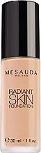Voňavky, Parfémy, kozmetika tónový krém s kyselinou hyalurónovou - Mesauda Milano Radiant Skin Foundation