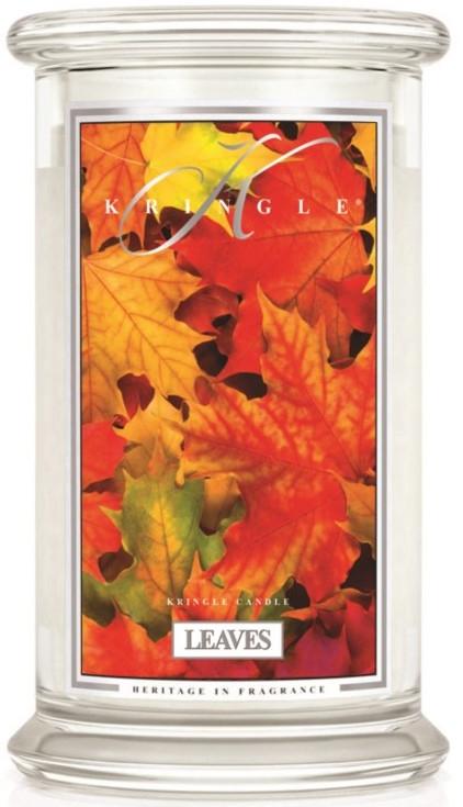 Vonná sviečka v pohári - Kringle Candle Leaves — Obrázky N1
