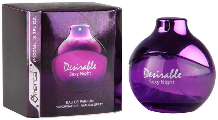 Omerta Desirable Sexy Night - Parfumovaná voda
