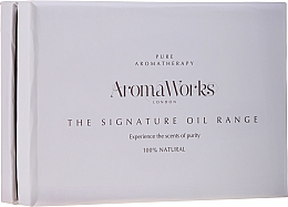 Voňavky, Parfémy, kozmetika Sada - AromaWorks Signature Oil Range (oil/4x10ml)