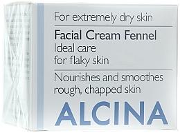 Voňavky, Parfémy, kozmetika Krém na tvár Fencheľ - Alcina T Facial Cream Fennel