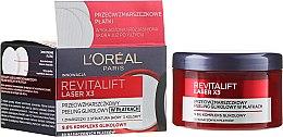 Voňavky, Parfémy, kozmetika Krém-peeling pre tvárové vrásky - L'Oréal Paris Revitalift Laser X3
