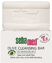 Voňavky, Parfémy, kozmetika Mydlo - Sebamed Olive Cleansing Bar