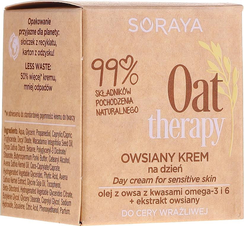 Ovsený denný krém pre citlivú pokožku - Soraya Oat Therapy Day Cream