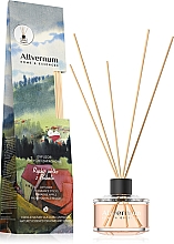 """Voňavky, Parfémy, kozmetika Aromatický difúzor """"Rajské jablko z Podhalia"""" s paličkami - Allverne Home & Essences Diffuser"""