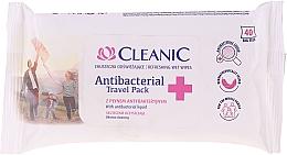 Voňavky, Parfémy, kozmetika Antibakteriálne vlhčené utierky - Cleanic Antibacterial Travel Pack Refreshing Wet Wipes