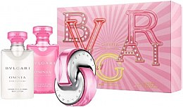 Voňavky, Parfémy, kozmetika Bvlgari Omnia Pink Sapphire - Sada (edt/40ml + b/lot/40ml + sh/gel/40ml)