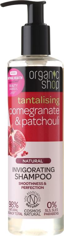 """Šampón na vlasy """"Granátové jablko a pačuli"""" - Organic Shop — Obrázky N1"""