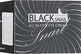 Voňavky, Parfémy, kozmetika Krém na oči s mucínom čierneho slimáka - FarmStay All-In-One Black Snail Eye Cream