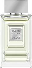 Voňavky, Parfémy, kozmetika Lalique Hommage a L'Homme - Toaletná voda