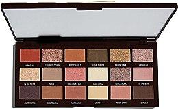Voňavky, Parfémy, kozmetika Paleta tieňov na viečka, 18 odtieňov - I Heart Revolution Chocolate Palette