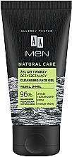 Voňavky, Parfémy, kozmetika Čistiaci pleťový gél - AA Men Natural Care Cleansing Face Gel