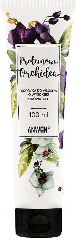 Kondicionér pre vysoko porézne vlasy - Anwen Protein Conditioner for Hair with High Porosity Orchid