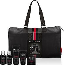Voňavky, Parfémy, kozmetika Sada - Baylis & Harding Signature Men's Black Pepper & Ginseng Weekend Bag(shawer/gel/200ml+soap/150g+hair/body/wash/100ml+b/lot/100ml+a/sh/balm/50ml+acc)