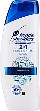 Voňavky, Parfémy, kozmetika Šampón na vlasy - Head & Shoulders Clasic Clean 2in1 Shampoo