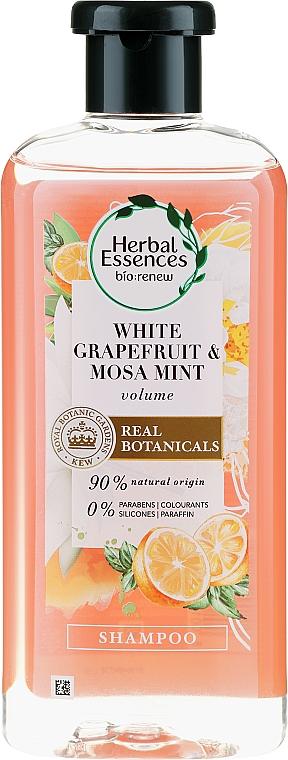 Šampón pre tenké vlasy - Herbal Essences White Grapefruit & Mosa Mint Shampoo — Obrázky N1