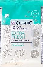 Voňavky, Parfémy, kozmetika Obrúsky na intímnu hygienu, 10ks - Cleanic Intensive Care Wipes