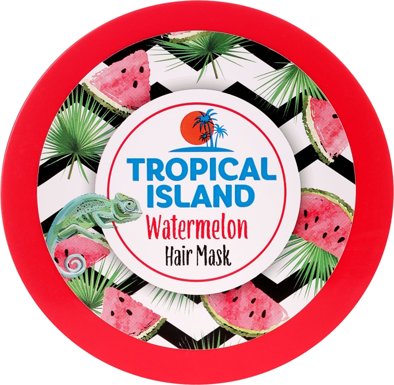 "Maska na vlasy ""Melón"" - Marion Tropical Island Watermelon Hair Mask"