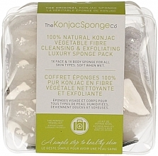 Voňavky, Parfémy, kozmetika Špongia - The Konjac Sponge Company Travel/Gift Sponge Bag Duo Pack 100% Pure