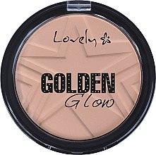 Voňavky, Parfémy, kozmetika Púder na tvár - Lovely Golden Glow Powder