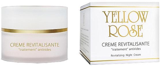 Nočný regeneračný krém - Yellow Rose Creme Revitalisante
