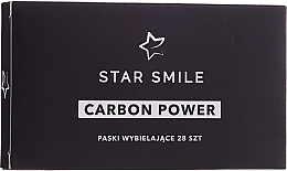 Voňavky, Parfémy, kozmetika Pásky na bielenie zubov - Star Smile Carbon Power Whitening Strips