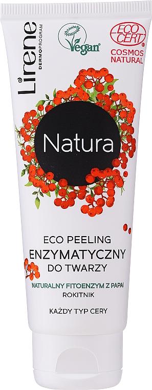 Enzýmový eco peeling na tvár - Lirene Natura Eco Peeling