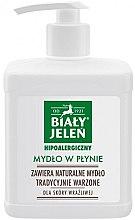 Voňavky, Parfémy, kozmetika Hypoalergénne tekuté mydlo - Bialy Jelen Hypoallergenic Soap