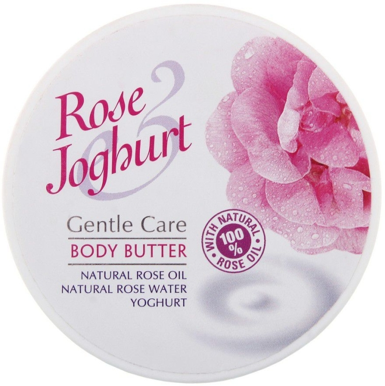 Telový olej - Bulgarian Rose Body Butter Rose Joghurt