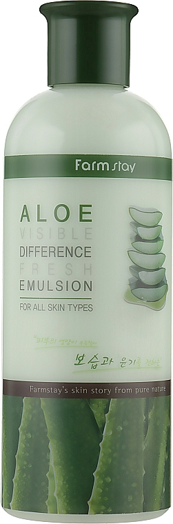 Osviežujúca emulzia s aloe - FarmStay Visible Difference Fresh Emulsion Aloe