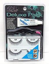 Voňavky, Parfémy, kozmetika Sada falošných rias - Ardell Deluxe Pack 109 Black