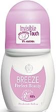 Voňavky, Parfémy, kozmetika Breeze Perfect Beauty Deo Roll-On 50 48h - Guľôčkový dezodorant