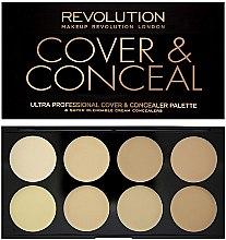 Voňavky, Parfémy, kozmetika Korektor na tvár - Makeup Revolution Ultra Cover and Conceal Palette