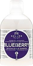 Voňavky, Parfémy, kozmetika Čučoriedkový revitalizačný šampón - Kallos Cosmetics Blueberry Hair Shampoo