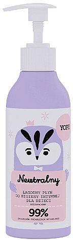 Gél na intímnu hygienu pre deti - Yope