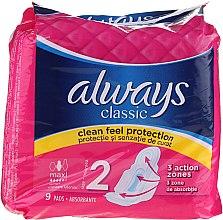 Voňavky, Parfémy, kozmetika Hygienické vložky, 9 ks - Always Classic Maxi Single