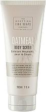 Voňavky, Parfémy, kozmetika Scrub na telo - Scottish Fine Soaps Oatmeal Body Scrub