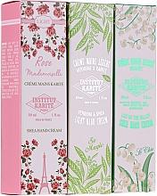 Voňavky, Parfémy, kozmetika Sada krémov na ruky - Institut Karite Travel Hand Cream Set (h/cream/3x30ml)