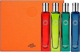 Voňavky, Parfémy, kozmetika Hermes Collection Colognes - Sada (edc/4x15ml)
