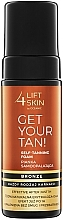 Voňavky, Parfémy, kozmetika Samoopaľovacia pena na telo - Lift4Skin Get Your Tan! Self Tanning Bronze Foam