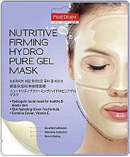 Voňavky, Parfémy, kozmetika Hydrogélova maska vyživová, spevňujúca na tvár - Purederm Nutritive Firming Hydro Pure Gel Mask
