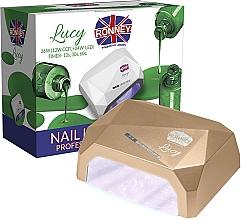 Voňavky, Parfémy, kozmetika Lampa CCFL+LED, zlatá - Ronney Profesional Lucy CCFL + LED 36W (GY-LCL-021) Lamp