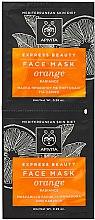 Voňavky, Parfémy, kozmetika Maska pre zdravie pokožky s pomarančom - Apivita Express Beauty Radiance Face Mask