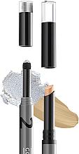 Voňavky, Parfémy, kozmetika Korektor a rozjasňovač na viečka v ceruzke - Gokos Cover&Glow