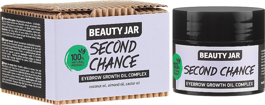Olejový komplex na obočie - Beauty Jar Second Chance Eyebrow Growth Oil Complex