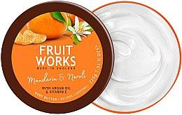 "Voňavky, Parfémy, kozmetika Olej na telo ""Mandarinka a neroli"" - Grace Cole Fruit Works Body Butter Mandarin & Neroli"