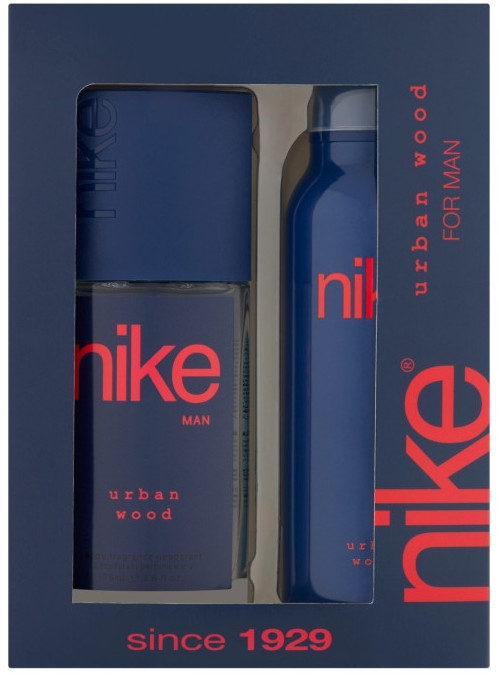 Nike Men Urban Wood - Sada (deo/200ml + deo/spray/75ml)